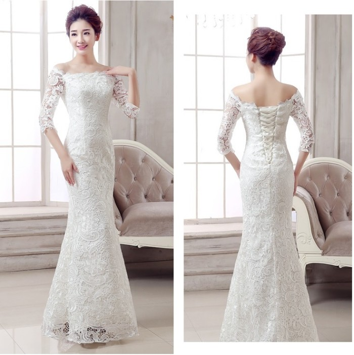 Baju Pengantin Gaun Pengantin Wedding Gown Wedding Dress 1601002 - Hijau