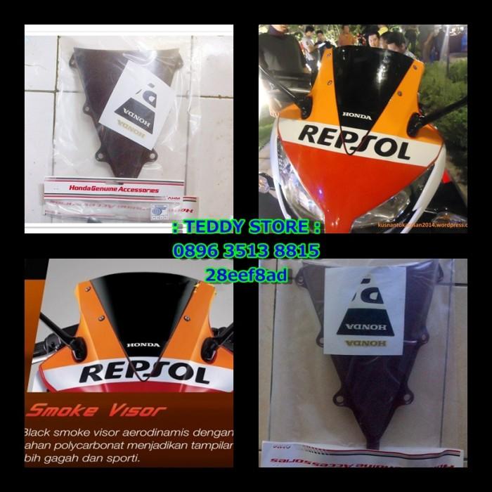 Jual Visor Smoke CBR150R CBR 150R dual Keen Eyes   Lokal Original ... d36f93e8d1