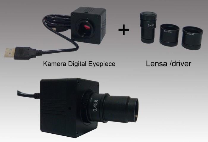 Jual 5.0mp kamera digital eyepiece mikroskop usb kab. bandung