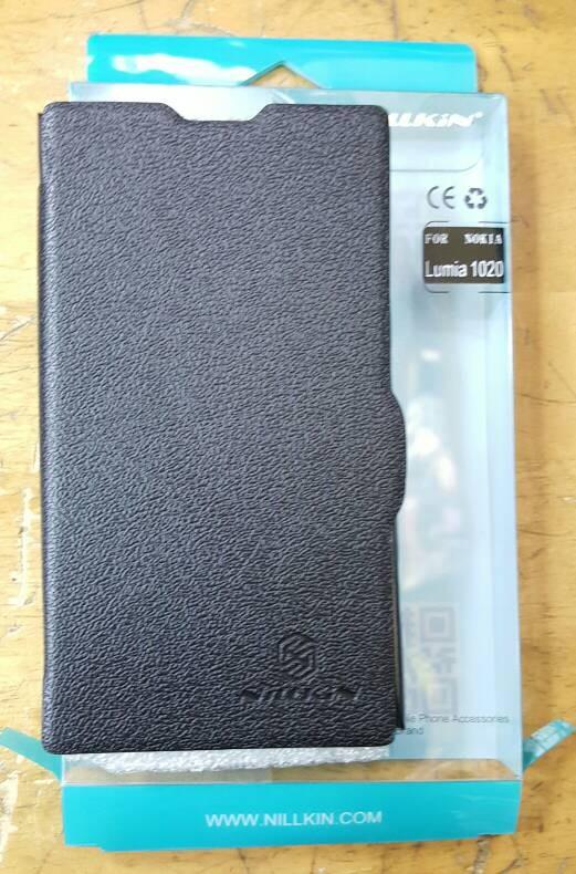 harga Nillkin nokia lumia 1020 flip leather case book red n black Tokopedia.com