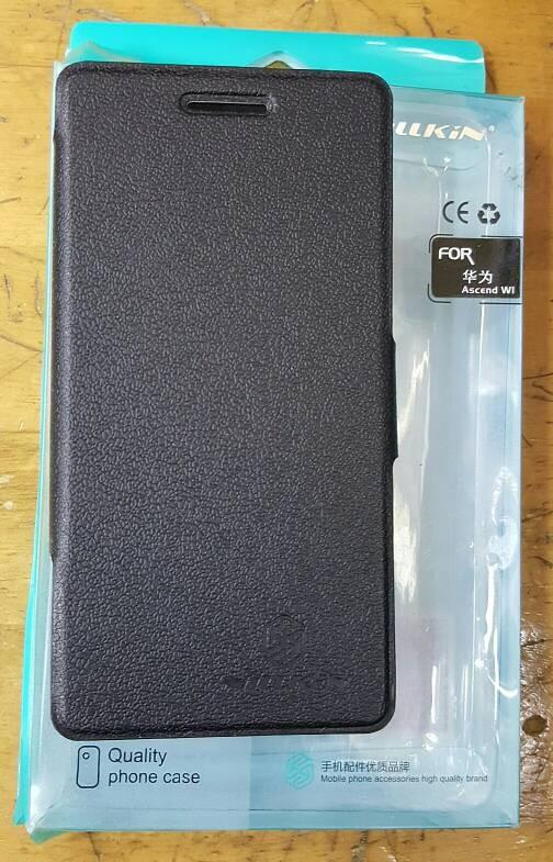 Nillkin huawei ascend w1 (wi) flip leather case