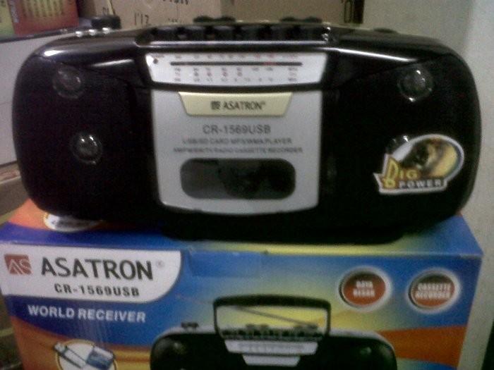 harga Radio kaset (tape) asatron cr1569 usb mp3 sd card Tokopedia.com