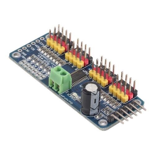 Foto Produk PCA9685 16-Channel 12-bit PWM Servo motor Driver I2C Module dari TOKO BEY