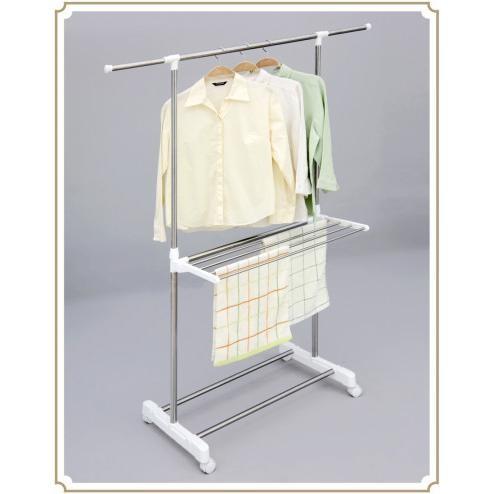 harga Clothes hanger 0401c - gantungan baju stainless steel Tokopedia.com