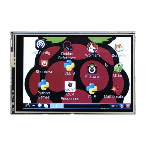 harga New lcd display module 3.5 inch tft touch screen for raspberry pi ab91 Tokopedia.com