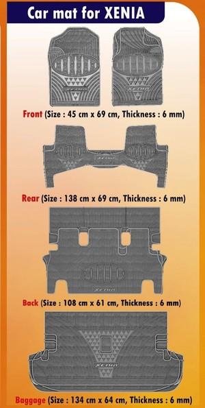 harga Murah - karpet mobil daihatsu xenia lama (xenia 2012 kebawah) Tokopedia.com