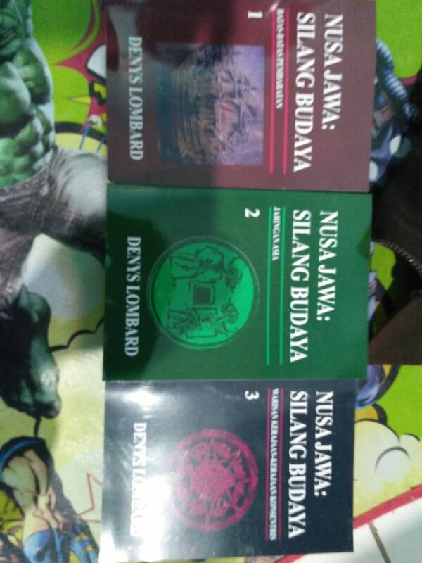 harga Nusa jawa silang budaya jilid 1-3 Tokopedia.com