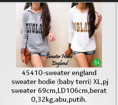 sweater england