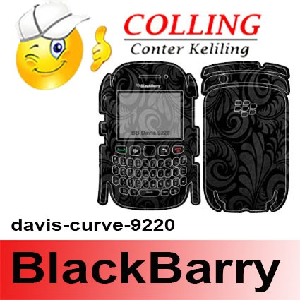 harga Stiker / garskin handphone / blackbarry / bb / davis curve 9220 Tokopedia.com