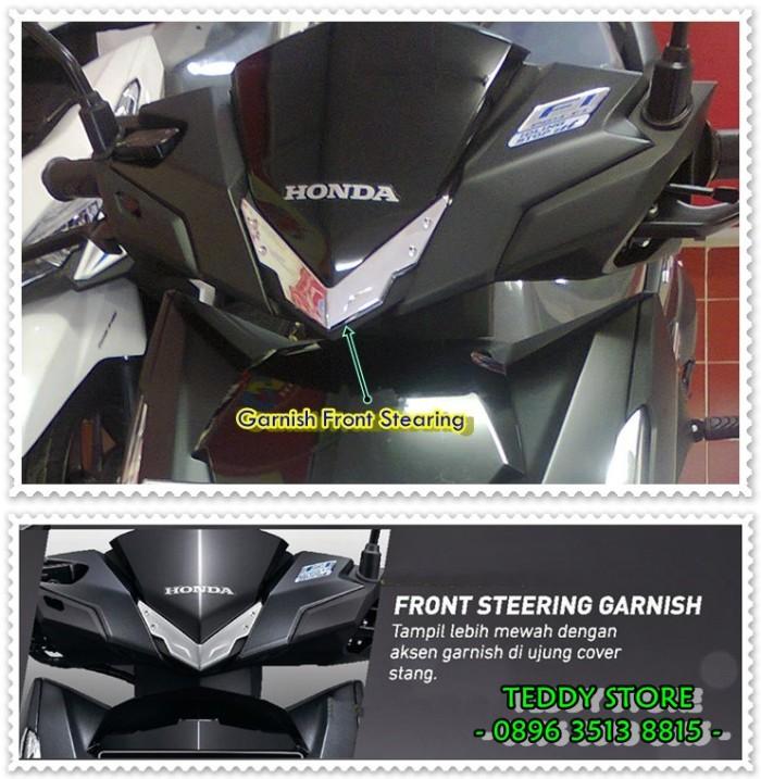 harga Aksesoris garnish cover handle / batok kepala stang honda vario 150 Tokopedia.com