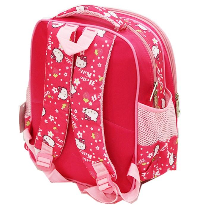 Onlan Hello Kitty Travel Bag Dua Kantung New Arrival Pink Daftar Source · Tas Ransel Hello Kitty 5D Timbul Hologram Ukuran TK ada 2 Kantung Pink