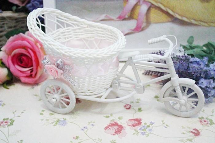 harga Shabby chic rattan bike bicycle / sepeda vas bunga shabby chic a3 Tokopedia.com