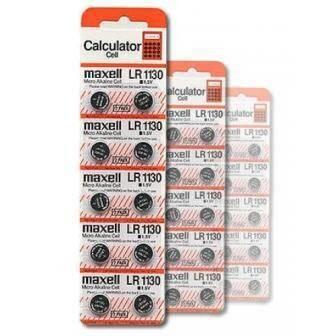 Baterai Kancing LR 1130 Original Maxell, Batre Jam, Batre Kalkulator