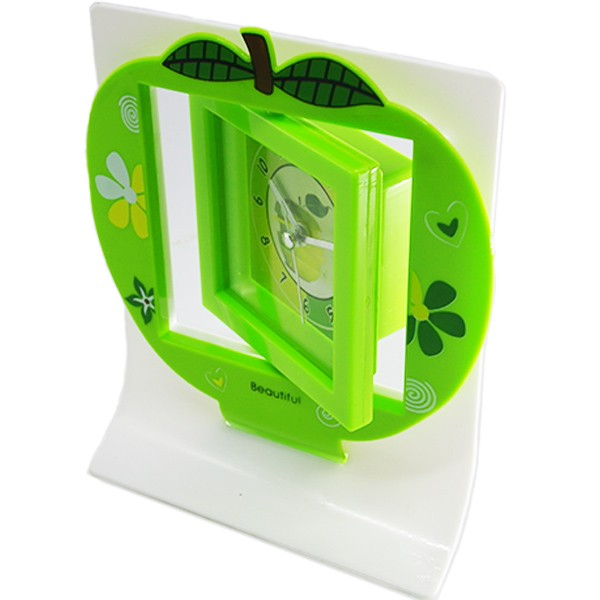 Ruibao jam weker/alarm clock -hijau