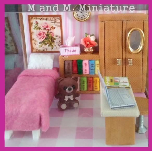 harga Miniatur kamar cewek+bear+tempatbarang unik hadiah ulang tahun ultah Tokopedia.com