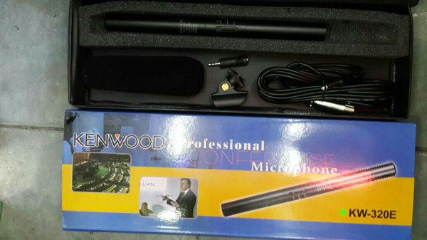 harga Kw320 shotgun mic microphone kenwood  untuk wedding sinetron bonus sta Tokopedia.com