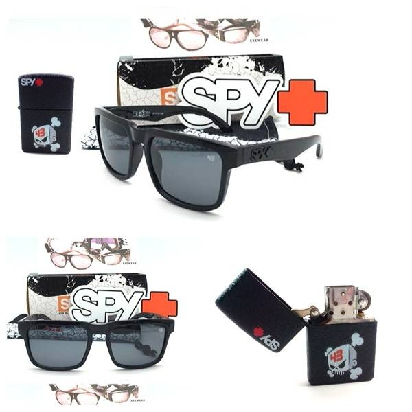 harga Kacamata gaya sunglass sepeda pria cowo spy ken block fullblack Tokopedia.com