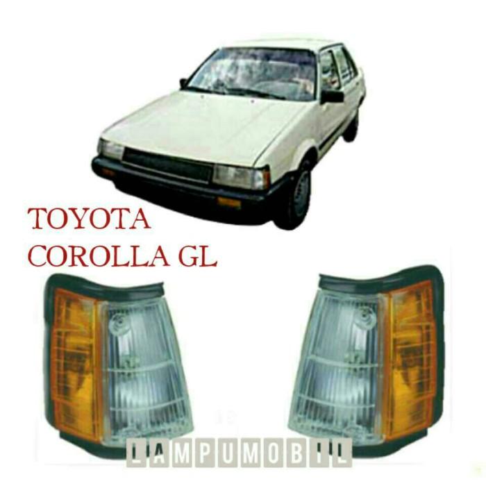 Lampu sein toyota corolla gl ae80 1994-1985 (set) ...