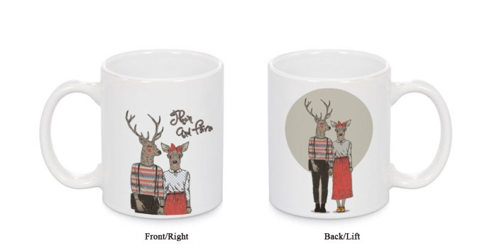 harga Mug couple design custom (tulis nama agan/sista dan pasangan) ^_^ Tokopedia.com