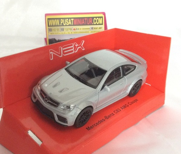 harga Mercedes benz c63 amg (silver) - skala 1:36 - welly (diecast-miniatur) Tokopedia.com