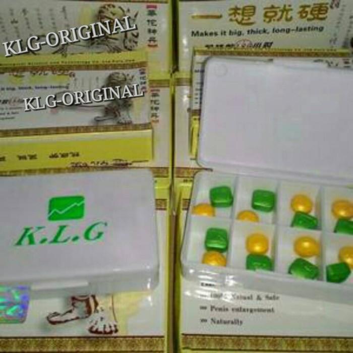 jual obat klg asli 1 box isi 48 pil 100 produk klg original