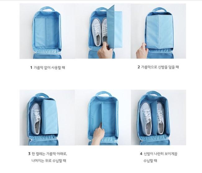NEW Monopoly Shoes Pouch Travel / Tas Sandal Sepatu Versi 2 .