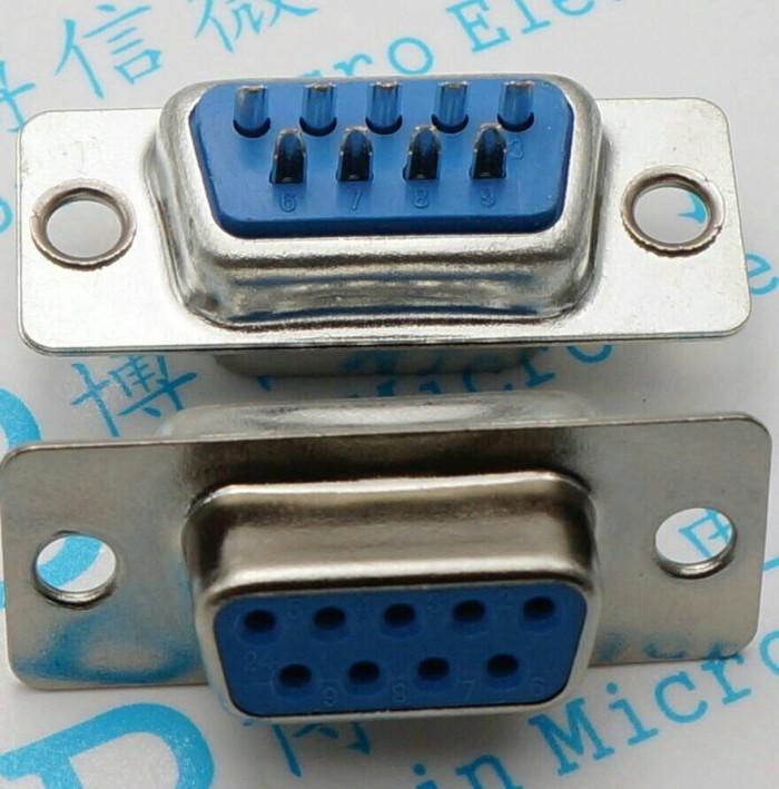Foto Produk DB9 Female Connector 9P - 9 Pin Serial RS232 dari findoelectronics