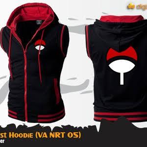 harga Jaket uchiha vest tangan buntung anime naruto uchiha Tokopedia.com