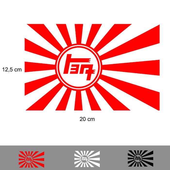 harga Stiker mobil jdm 20 cm toyota honda suzuki nissan datsun spion tangki Tokopedia.com