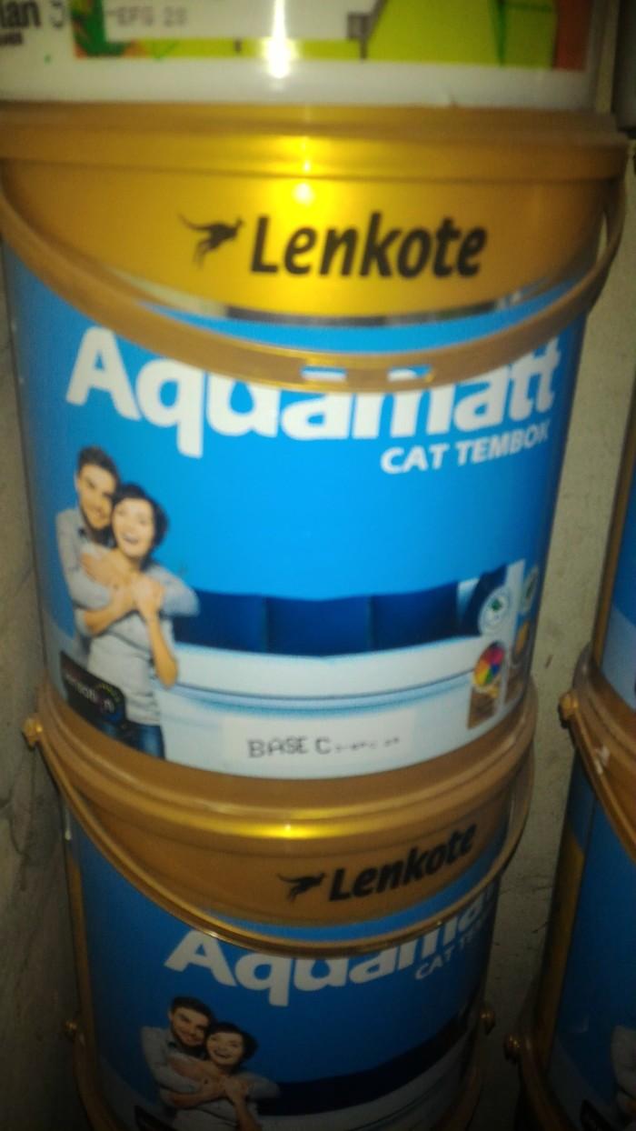 harga Cat tembok lenkote aquamatt (5 kg) Tokopedia.com