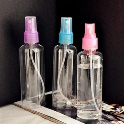 Jual Botol Parfum Plastik Ukuran 100 Ml Botol Transparan Botol