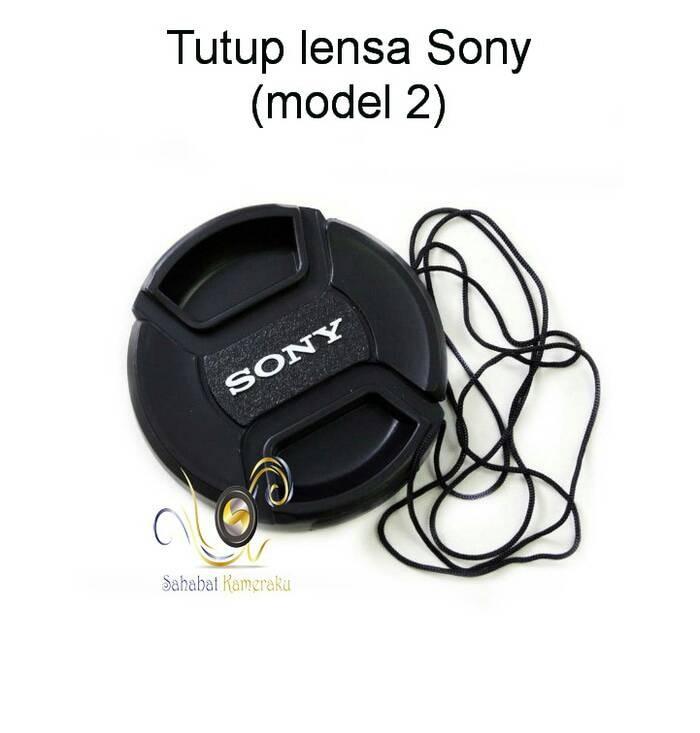 Foto Produk TUTUP LENSA / FRONT LENS CAP SONY UKURAN 55 MM (MODEL II) dari SaNana Shop