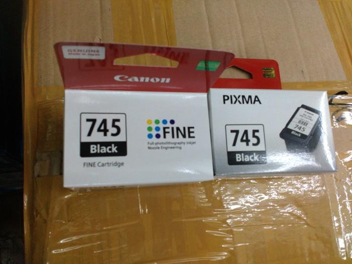 harga Canon pixma 745 black ori Tokopedia.com