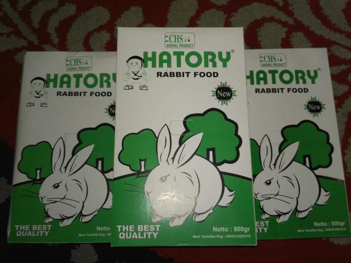 harga Hatory rabbit food / makanan kelinci Tokopedia.com