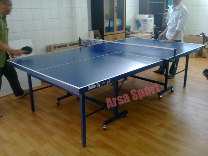 harga Meja pingpong butterfly / ping pong set lengkap Tokopedia.com