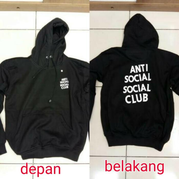 Jual Hoodie Anti Social Sosial Club Assc Dki Jakarta Bozz Jersey Tokopedia
