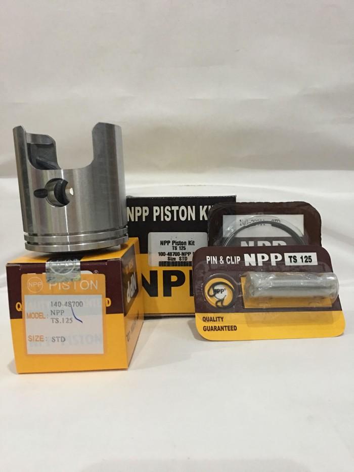 harga Piston kit suzuki ts 125 merk npp oversize std Tokopedia.com