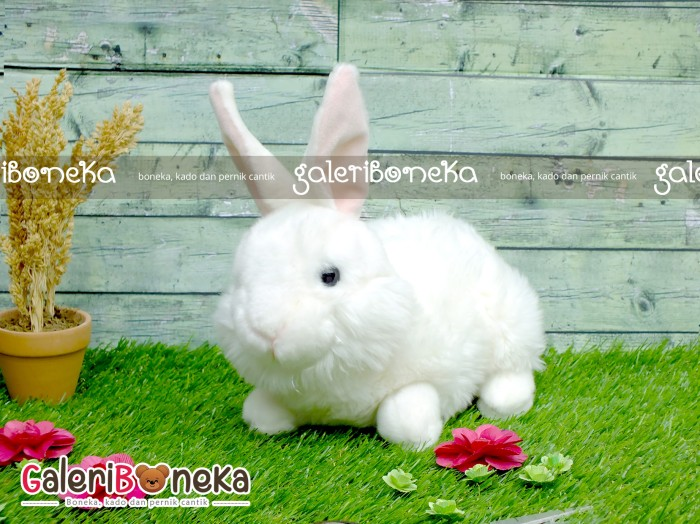 Boneka Kelinci Putih Hk