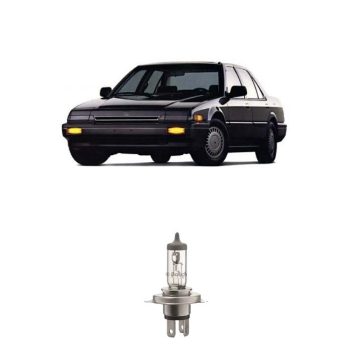Jual Bosch Lampu Honda Accord 88 Low Beam Standard Car H4 12v 60w/55w P43t Harga Promo Terbaru