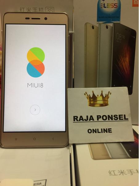 Xiaomi redmi 3s pro ram 3gb rom 32gb - garansi distributor 1 tahun