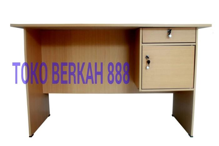 harga Meja kantor 1/2 biro meja kerja meja belajar meja makan Tokopedia.com