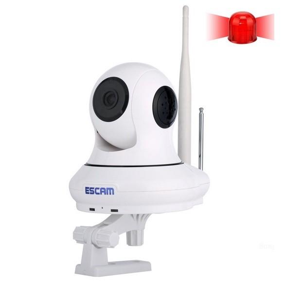 Foto Produk ESCAM Patron QF500 Wireless IP Camera CCTV for Android and iOS dari JN Holic