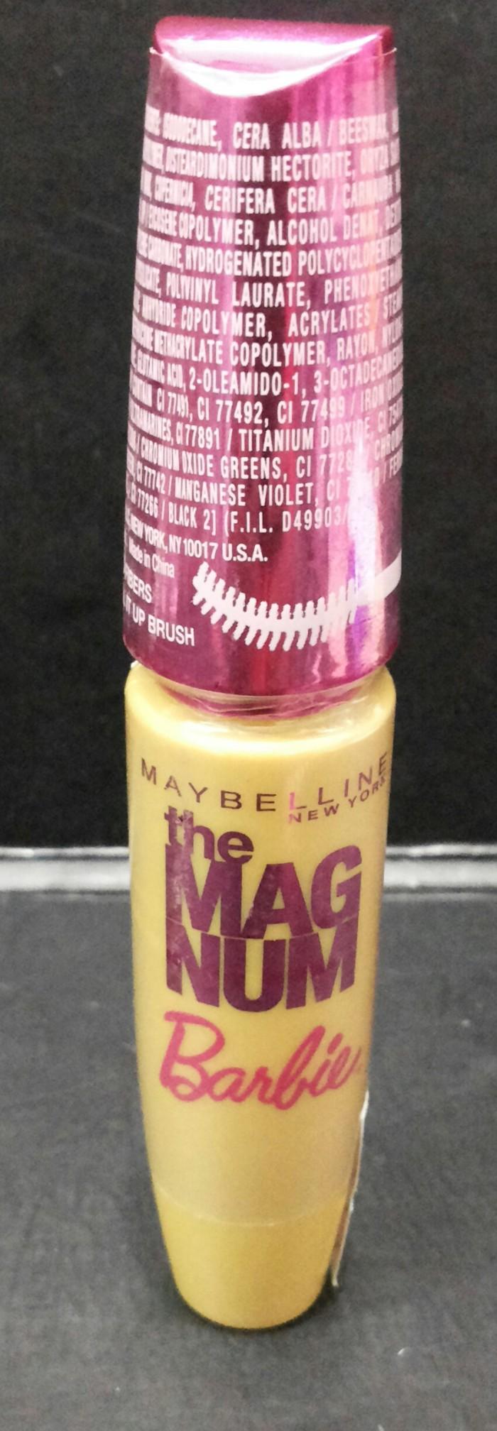 Jual Maybelline Magnum Barbie Mascara Maskara Ori 100