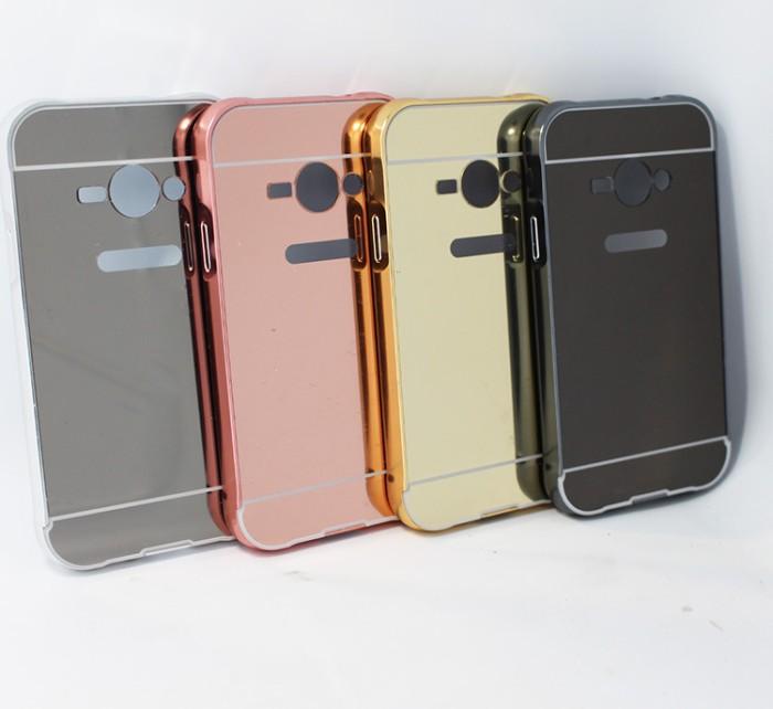 Samsung Galaxy V G313 V Plus Aluminium Bumper Mirror Hard Casing Case