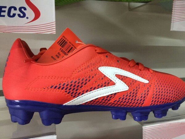 harga Sepatu bola specs fg red poppy blue sepatu sepak bola Tokopedia.com