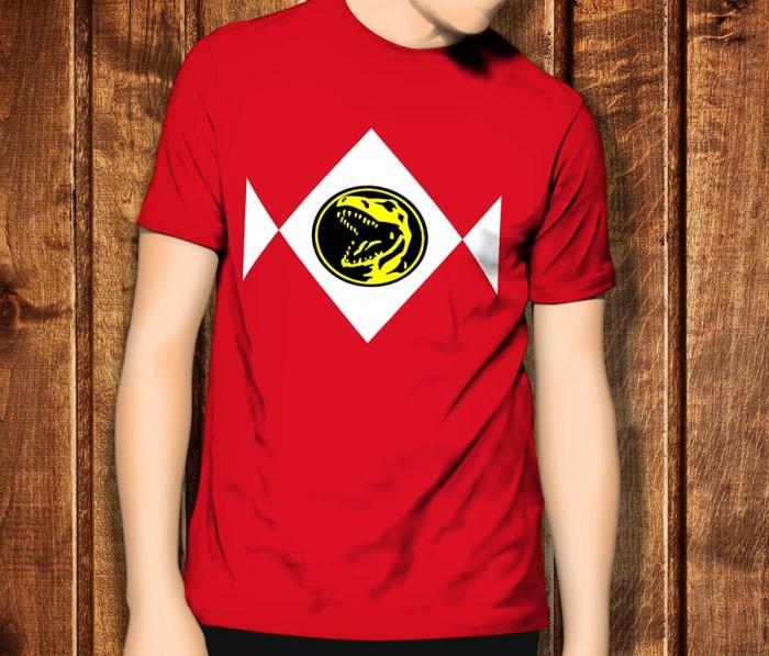 harga Power rangers 1 ranger movie 2017 baju kaos t-shirt t shirt tshirt Tokopedia.com
