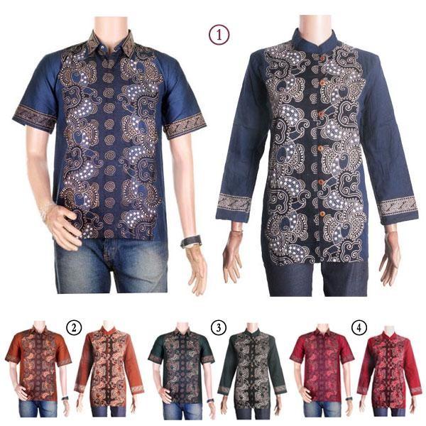 harga Sarimbit/couple batik kemeja-blus sabrina (sepasang) - bisa seragam Tokopedia.com