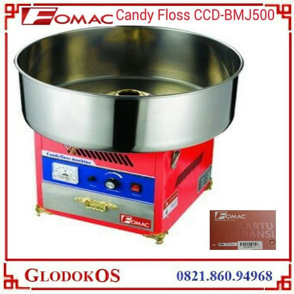 harga Fomac candy floss maker - mesin gula kapas gas ccd-bmj500 Tokopedia.com