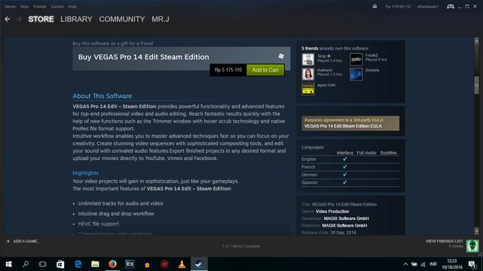 Jual VEGAS pro 14 Edit Steam edition - Kota Banda Aceh - Acehvidgram |  Tokopedia