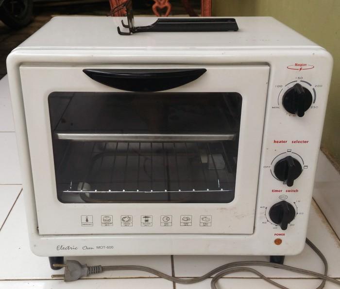 Oven Listrik Electric Maspion MOT 600 Second Bekas